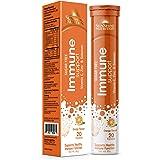 SUNSHINE NUTRITION Immune Support Efferv Orange Tabs, 20'S