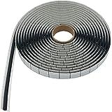 Butylrond koord butylband rond snoer - 6 mm Ø x 6 meter - zwart
