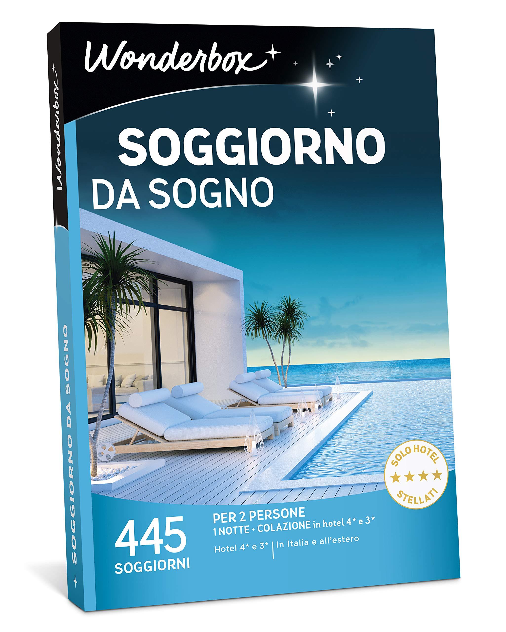 WONDERBOX Cofanetto Regalo per Coppia - Soggiorno da Sogno ...