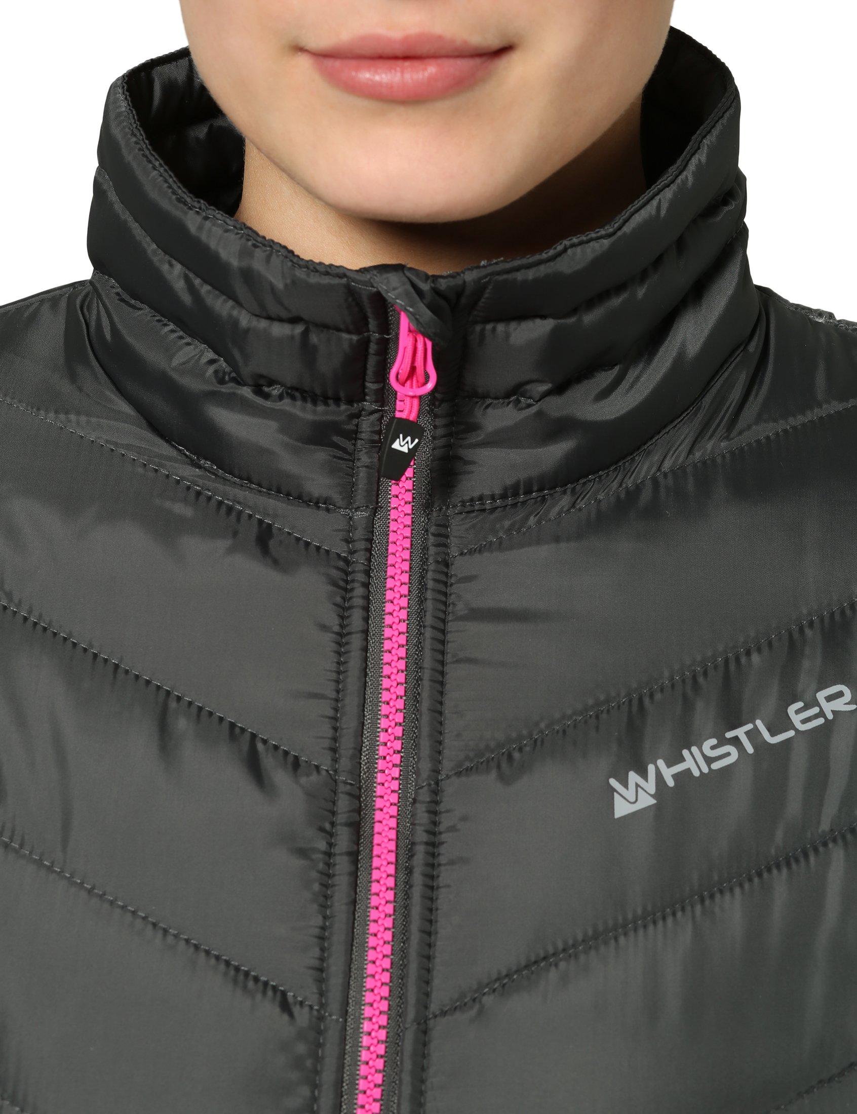 81BPovl34zL - Ultrasport Whistler Women's Quilted Jacket Foggia