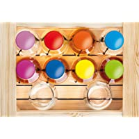 Mazzetti d'Altavilla - Cassetta Baby Color con 8 grappe da 10 cl e 2 bicchieri