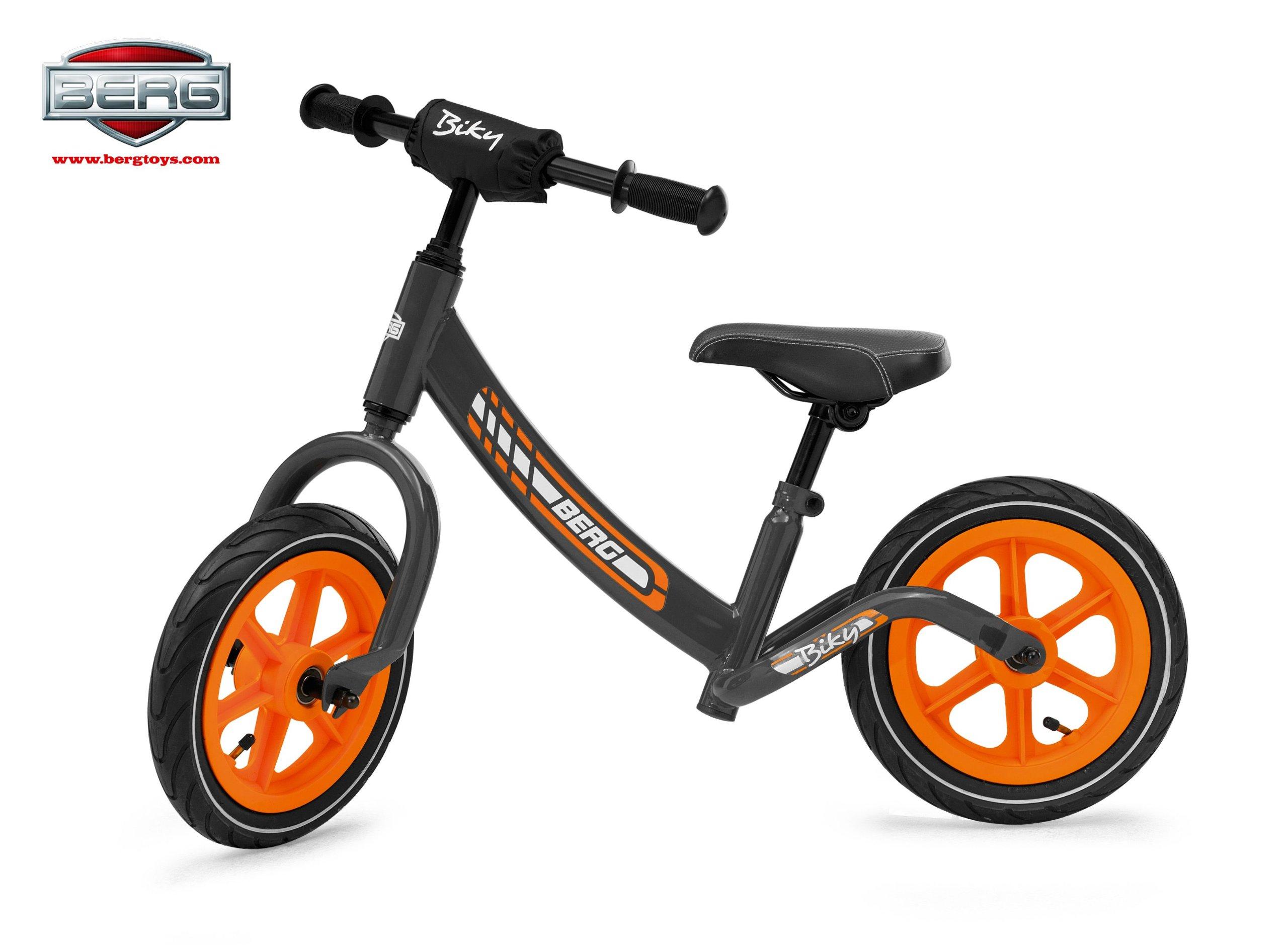 Berg Toys Primi Passi Bicicletta, Grigio, Taglia Unica