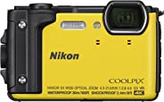 Nikon Coolpix W300 Waterproof Underwater Digital Camera with TFT LCD (Yellow)