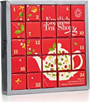 """English Tea Shop - Tee Adventskalender """"Pink Christmas"""", 24 einzelne Boxen mit würzigen BIO-Tees in hochwertigen..."""
