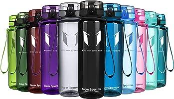 Super Sparrow Trinkflasche - Tritan Wasserflasche - 350ml & 500ml &750ml & 1000ml - BPA-frei - Ideale Sportflasche -...