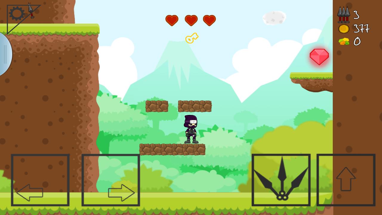 NINJA SIDE 2D : Platform Game: Amazon.de: Apps für Android