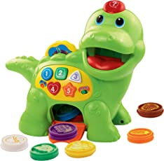 Vtech 80-157704 - Fütter-mich Dino, Babyspielzeug