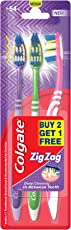 Colgate ZigZag Toothbrush - Medium B2G1