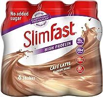 Slim-Fast Milkshake Cafe Latte 6X325Ml