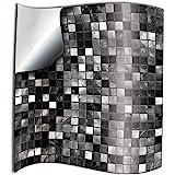 24st Zwart Wit Keuken Badkamer Tegel Stickers Transfers Platte Gedrukte Covers voor 15 x 15 cm Tegels DIY Plak op Muur Schil