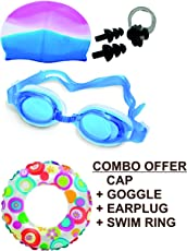 ROYALS Swimming Rings for Kids (Swim Combo + Ring),20-inch(Multicolour)