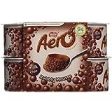 Nestle Aero Milk Choc Bubbly Mousse, Pack of 4