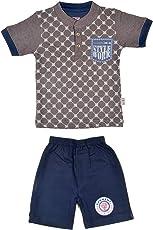Sathiyas TimTom Boys Clothing Sets (2-3 Years, Grey)