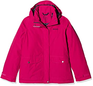 Regatta Girls' Spinney Waterproof Jacket: Amazon.co.uk: Sports ...