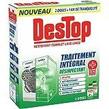 Destop Nettoyant Complet Lave Linge Désinfectant 2x250ml