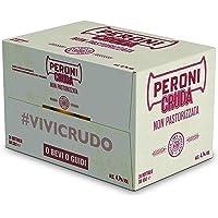 Peroni Cruda Birra - Cassa da 24 Bottiglie da 33cl, Non Pastorizzata - 7920 ml
