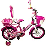Swimming PINK 12 inch Bicycle for Kids