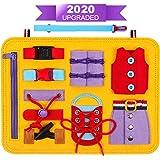 DigHealth Busy Board, 2 Años Juguetes Educativos para Aprender a Habilidades Básicas Vestirse, Juguetes Montessori para Niños