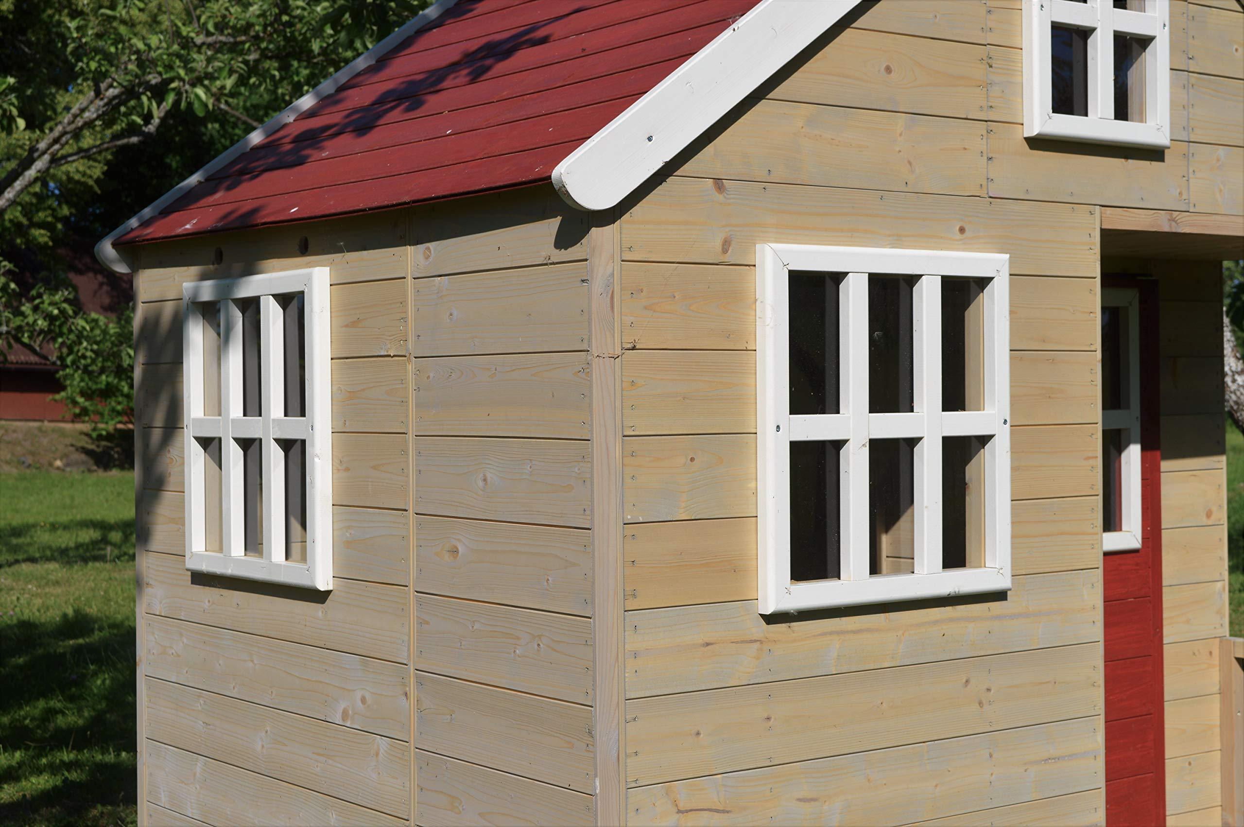 Casette Per Bambini In Legno : Wendi toys casetta per bambini in legno villa nordica per giardino