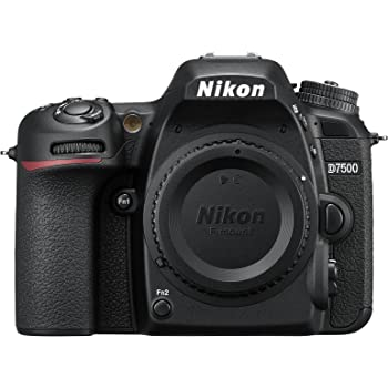 Nikon D7500 SLR Corpo Della Macchina Fotografica 20.9MP CMOS 5568 x 3712pixels, Nero