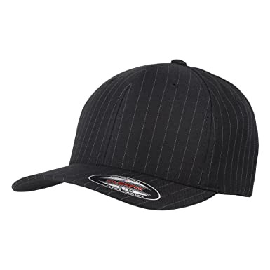 2bcd3d4f624d7 Yupoong Flexfit Unisex Pinstripe Baseball Cap  Amazon.co.uk  Clothing