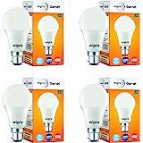 wipro 10 Watt B22 LED Cool Day White Bulb, Pack of 4, (Garnet)