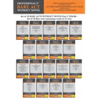AIBE Bare Acts Combo without Notes- All India Bar Examination Books without Notes as per Bar Council of India Guidelines…