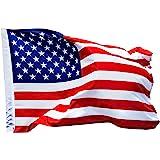 aricona Bandiere Bandiera degli Stati Uniti, Resistente alle intemperie con 2 Occhielli in Metallo - Bandiera Nazionale Ameri
