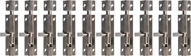 Visko Tools 903 Premium Series 10 Mm(100Mm) Tower Bolt (10 Pieces)