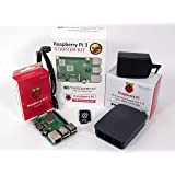 Raspberry Pi 3 Model B+ Official Starter Kit Black with 16GB microSD (with Raspbian)