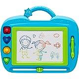 PIZARRA DIBUJO INFANTIL. Escritura Magnética Doodle Sketch. Primeros Pasos con el Dibujo. Multicolor. Juguete Educativo para