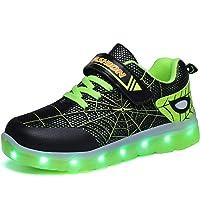 Kimily-UK LED Scarpe Sportive per Bambini Ragazze e Ragazzi 7 Colori USB Carica Lampeggiante Luminosi Running Sneakers…