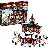 LEGO Ninjago - Monasterio del Spinjitzu, juguete creativo e imaginativo de construcción con templo para aventuras ninja (7067