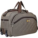 Alfisha Wholesale Polyester Easy Carry Durable Fashion high-Capacity Traveling Duffle Bag with Roller Wheels (Gala…