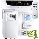 Alpen Air Airconditioning, 2,6 KW, koelvermogen met een laag stroomverbruik (slechts 1000 watt), airconditioning, afstandsbed
