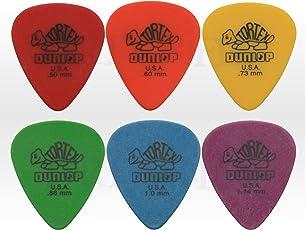 RICISUNG Plektren, dünn, Gitarrenplektren in dreieckiger Herzform