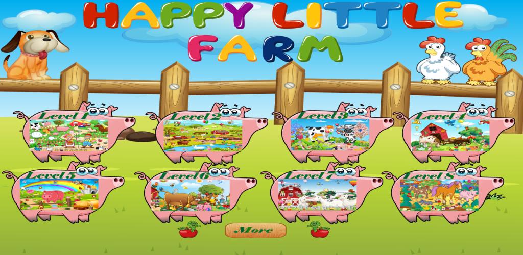 Oggetti felice piccola fattoria nascosti for Piccola fattoria moderna