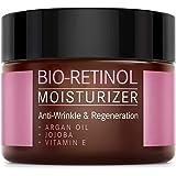 BIO-Retinol Creme - 2,5% Retinol Anti-Aging Formel mit Vitamin E, Arganöl und Jojoba - NATURKOSMETIK VEGAN - 50 ml Made…