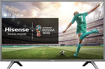 Hisense H43N5705 4K UHD TV 108 cm (43 Zoll) LED Fernseher (Ultra HD, Triple Tuner, Smart TV)