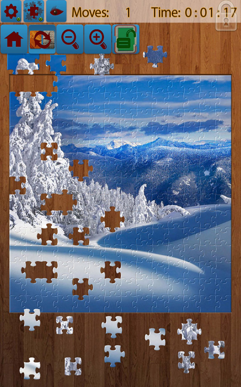 Snow Landscape Jigsaw Puzzles: Amazon.co.uk: Appstore for ...