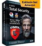 G DATA Total Security 2020   3 Geräte - 1 Jahr, DVD-ROM inkl. Webcam-Cover   Antivirus für Windows, Mac, Android, iOS   Made in Germany