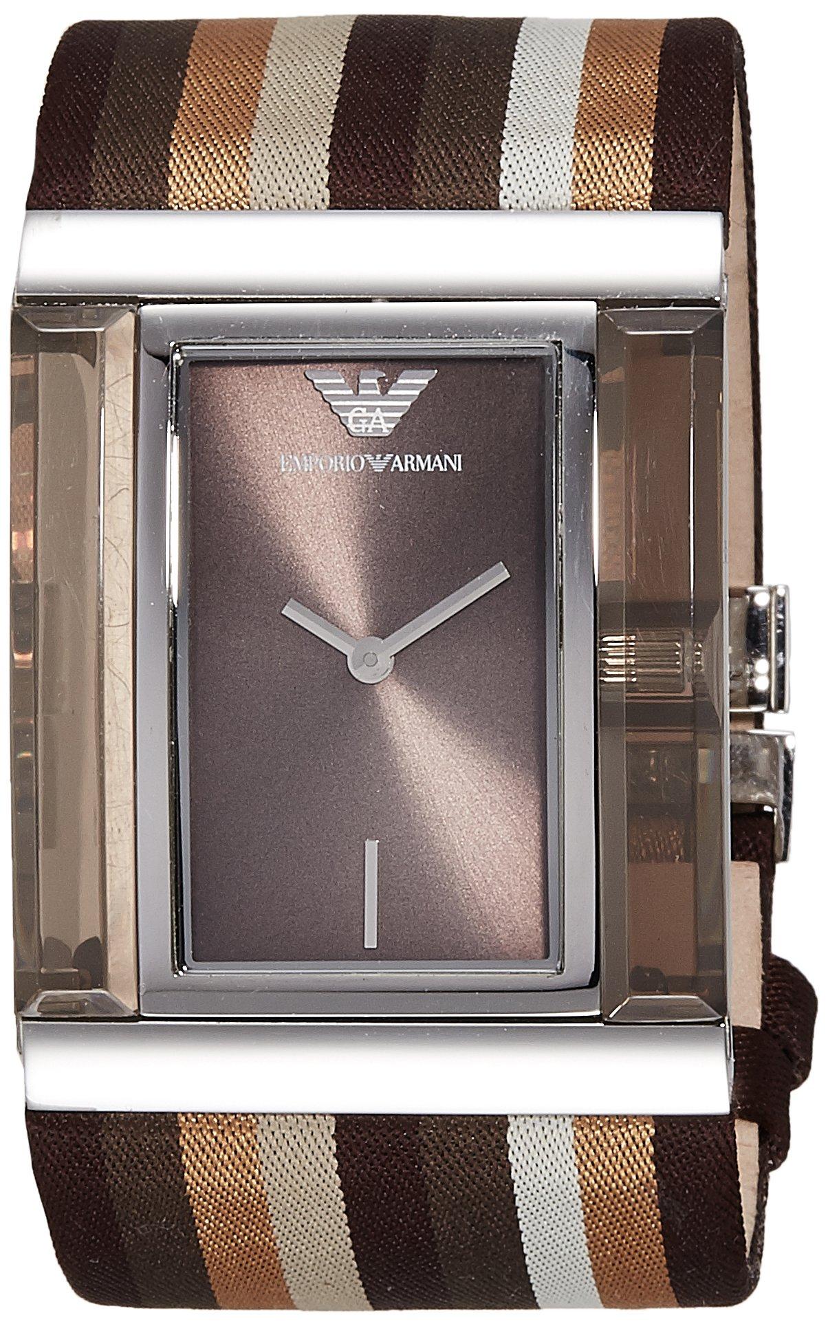 Emporio Armani Analog Brown Dial Women's Watch – AR7311