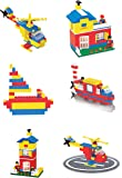 Toyztrend Expert Building Blocks for Kids, 180+ Pieces Blocks. let Your Kid Make Everything he/she Dreams of. Improves…
