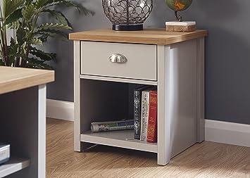 Lancaster grey living room furniture range lamp table amazon lancaster grey living room furniture range lamp table aloadofball Images