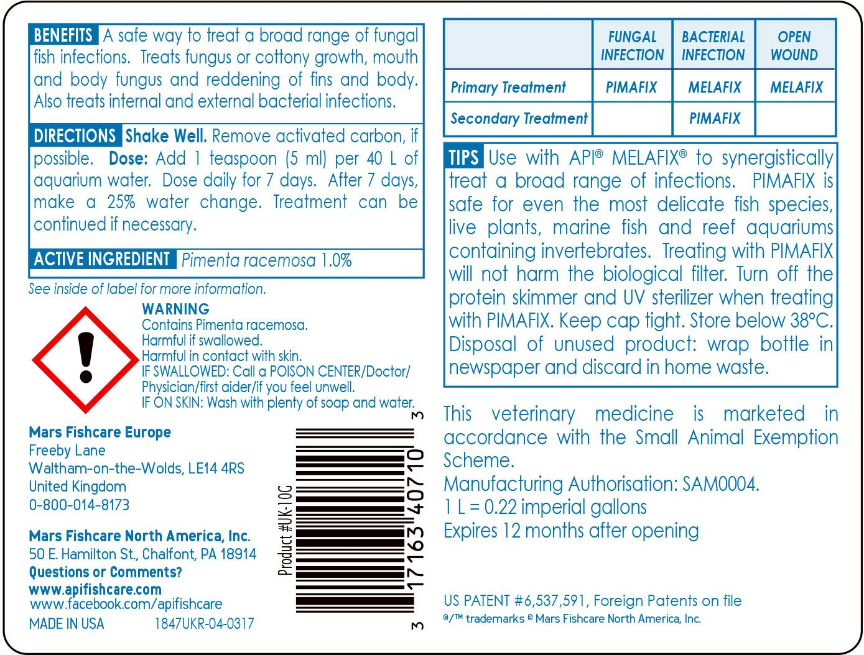API Pimafix, antifungal remedy for fresh and salt water fish
