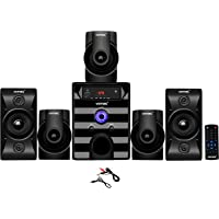Vemax Tokyo 5.1 Bluetooth Multimedia Home Theater System with FM, Pen Drive, Mobile Aux