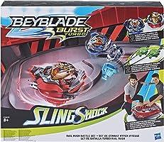 Beyblade- Estadio Turbo Rail, Multicolor (Hasbro E3629EU4)