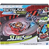 Hasbro Beyblade Burst E3629EU4 BEY Rail Rush Battle Set, Multicolour