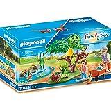 PLAYMOBIL - Family Fun Recinto Exterior de Pandas Rojos