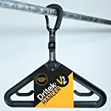 Dritek Hanger V2 is the world's most versatile heavy-duty garment hanger, designed to securely hang wetsuits, drysuits, outer